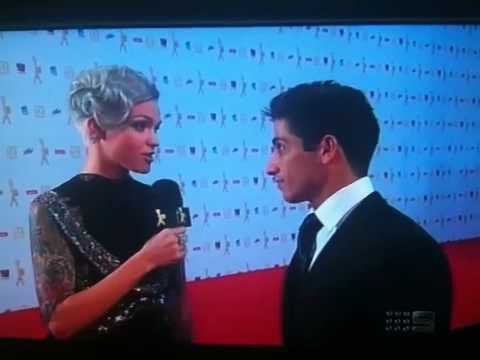 Firass Dirani at the Logies 2010 Video