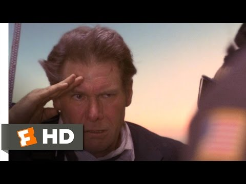 Air Force One (8/8) Movie CLIP - The New Air Force One (1997) HD