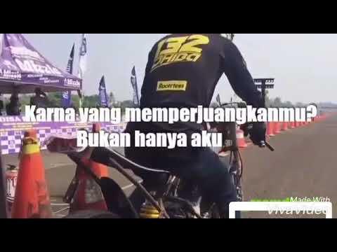 Drag bike vs dj bukan kaleng kaleng