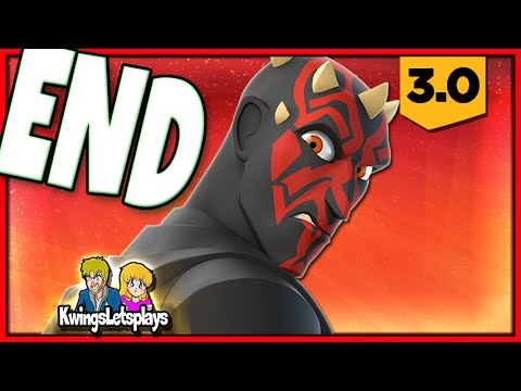 Disney Infinity 3.0 - STAR WARS Ending! (Darth Maul Battle) Twilight of the Republic Play Set