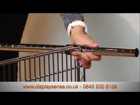 Wire Shelving Unit - How to Assemble