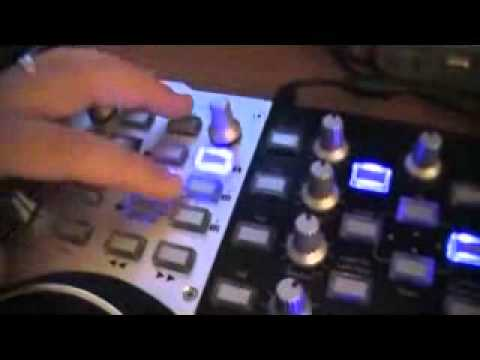 hercules 4-mx  with virtual dj pro 7