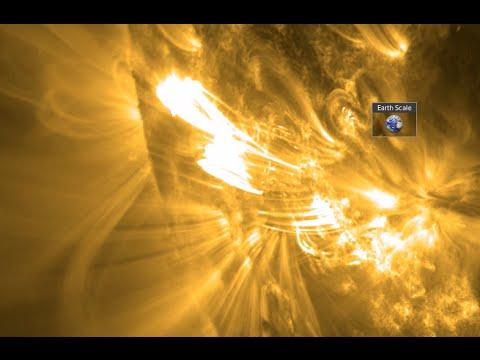 X Class Solar Flare | S0 News October 19, 2014