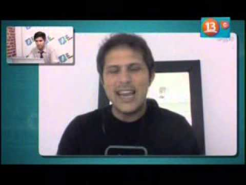 Entrevista sobre BlackBerry 10 - OhMyGeek! Canal 13 Cable Chile