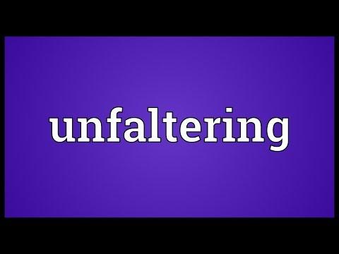 Header of unfaltering