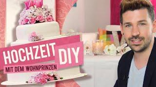 Hochzeitsdeko DIY für den Brautpaartisch! #WeddingMonday 3 05:55