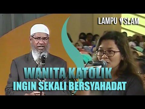 WANITA KATOLIK Ingin Sekali BERSYAHADAT | Dr. Zakir Naik UMY Yogya 2017