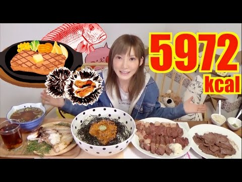 【MUKBANG】 Grilled Meat 700g & 2.3Kg of Rice Bowl with Dried Fish [Hometown Tax System][CC Available]