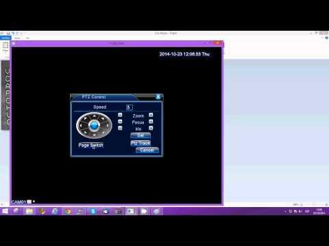 Configurar PTZ analoga + PRESET + TOUR HVR MACREC