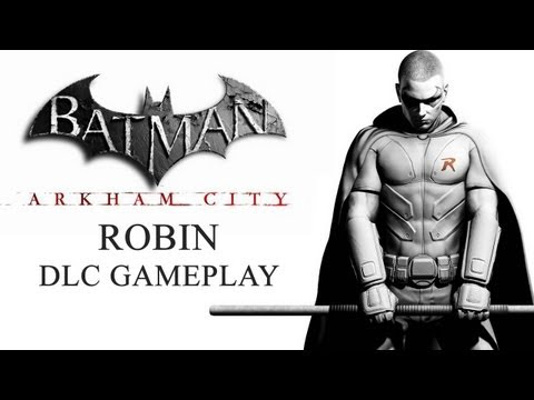 BATMAN Arkham City - Robin DLC Gameplay
