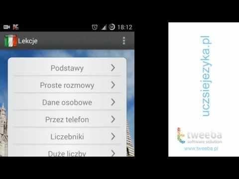 Ucz Się Języka Włoskiego - Włoski Na Android