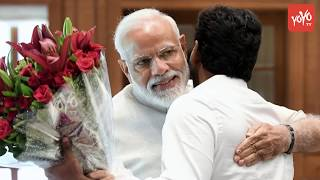 YS Jagan Meets PM Narendra Modi | AP CM Jagan With Modi | AP News | Delhi