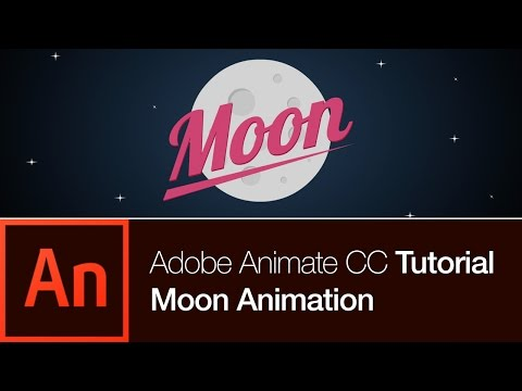 Animate CC Tutorial | Create the Moon Animation (FREE DOWNLOAD)