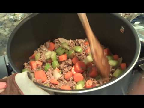 Beef Vegetable Soup – Quick & Easy