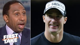 Stephen A. bets on Drew Brees and the Saints to win the NFC | First Take