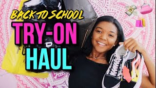 GIANT BACK TO SCHOOL TRY-ON CLOTHING HAUL (Forever 21, Brandy Melville, Pacsun) │ California Crystal
