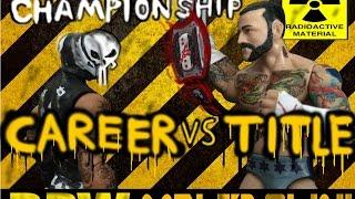 BPW MELTDOWN! Part 2 Rey Mysterio VS CM Punk Title VS Career Match Stop Motion Wrestling Animation