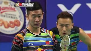Danisa Denmark Open 2017   Badminton F M4-MD   Liu/Zhang vs Gid/Suk