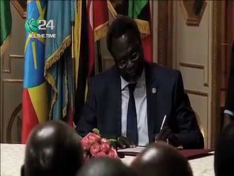 South Sudan Leaders Agree To Ceasefire