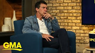 Antonio Banderas on how an odd wall color shut down a movie production