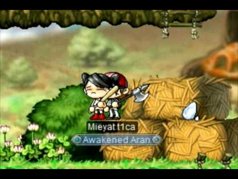 Playing MapleStory and this tim