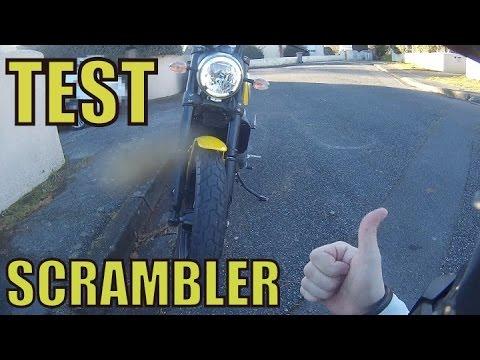 Essai / Test de la Ducati Scrambler (FR)