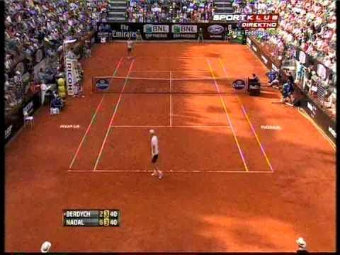 Rafael Nadal vs Tomas Berdych - ATP Rome 2013. Highlights (bojan svitac)
