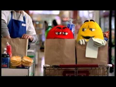 Reklama M&M w sklepie - YouTube