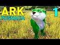 Lagu [1] Giant Otters and Hippos Of Doom! (Let's Play ARK Pugnacia Multiplayer)