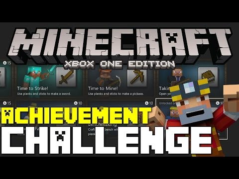 Minecraft Xbox One Edition: Achievement Challenge Ep.5 Survival Lets Play