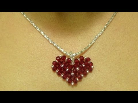 How to make a small heart pendant -Mother s day gift