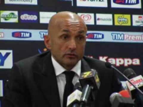 3^a Parte post Roma-Chievo Conferenza stampa di Luciano Spalletti