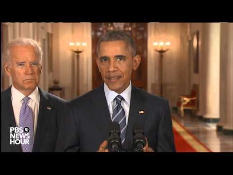 Watch President Obama announce Iran nuclear agreement
