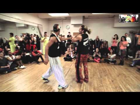 Braz, Dikla, Jessica, Henri, Shani - Fall for Zouk 2015 - Lambazouk Demo - New York