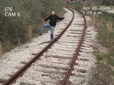 MAN HIT BY TRAIN