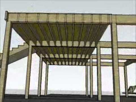 Wood mezzanine movie clip youtube for How to build a mezzanine floor in a garage