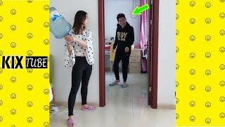 Watch keep laugh EP508 ● The funny moments 2019