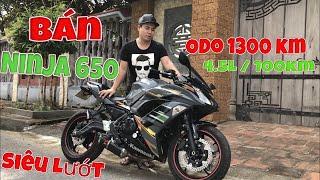 Bán Ninja650 Siêu Lướt | Sốc vì mức tiêu hao nhiên liệu 4,5L/100km | Tài Pô Độ | 0947.22.1234