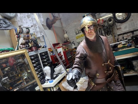Adam Savage's New Medieval Armor Costume!