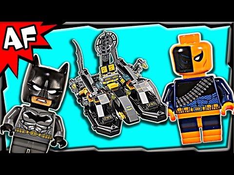 Lego Batman BATBOAT Harbor Pursuit 76034 Stop Motion Build Review