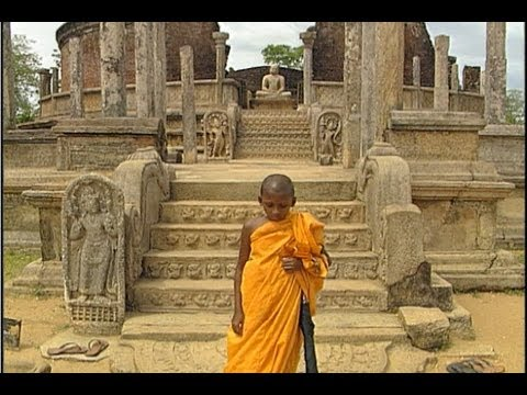 Sri Lankan Kandian Dancers, Ancient Temples And Shrines To Buddha video