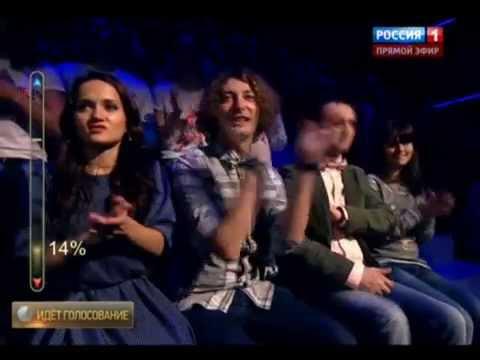 """Финал шоу """"Артист"""" на канале """"Россия 1"""": выступление Ивана Далматова"""