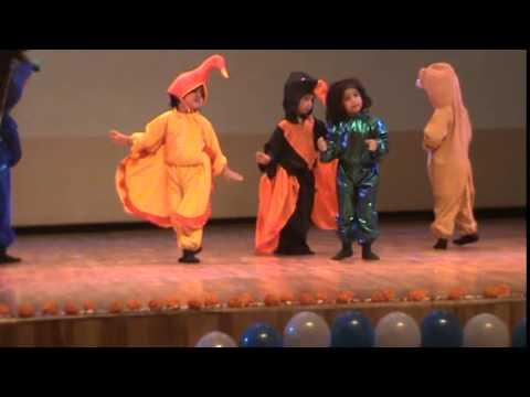 chun chun karti aayi chidiya dance by nursery kids