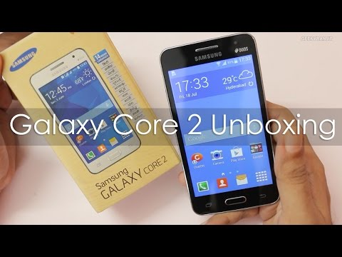 Samsung Galaxy Core 2 Unboxing First Boot & Hands on Overview