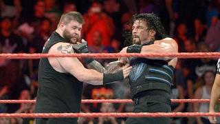 Roman Reigns VS Kevin Owens Royal Rumble 2017 Full Match
