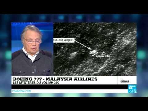 Boeing 777 - Malaysia Airlines : les mystères du vol MH 370 (Partie 1) - #DébatF24