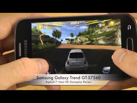 Asphalt 7: Heat Samsung Galaxy Trend GT-S7560 HD Gameplay Review