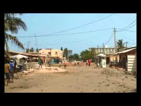 une route à lomé togo