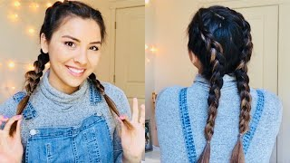 DUTCH BRAIDS TUTORIAL | Easy Dutch / Boxer Braids! ♡