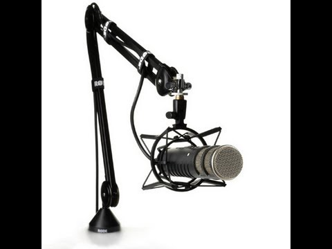 External stage mic setup